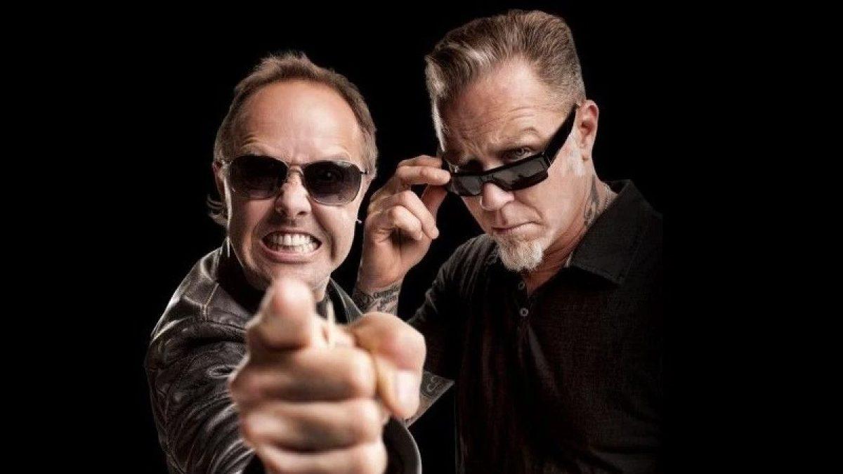 Epic Drum Battle James Hetfield Vs Lars Ulrich Metalhead Zone