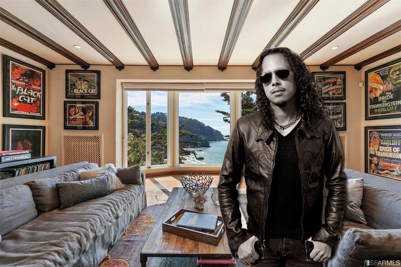 Metallica S Guitarist Kirk Hammett