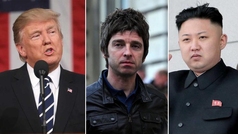 Oasis' Noel Gallagher Slams Donald Trump And Kim Jong-un ...