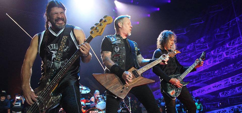 Metallica Tour Support