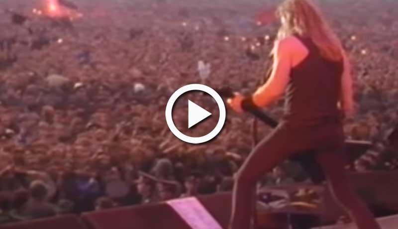 Metallica – Fade To Black (Live Moscow 1991)