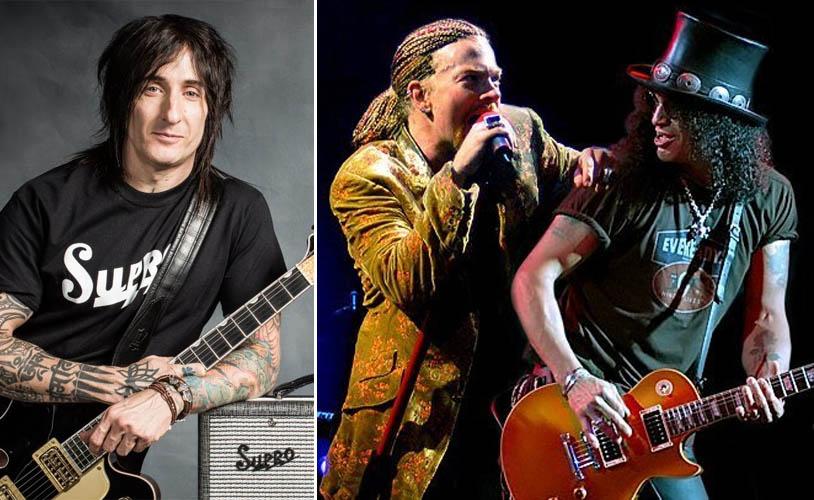 guns n 39 roses guitarist hints at potential release date of new album. Black Bedroom Furniture Sets. Home Design Ideas