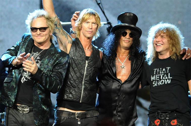 Guns N' Roses' Secret New Album Material Has Been Exposed