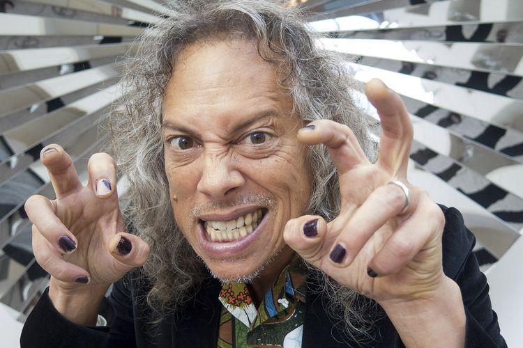 Metallica's Kirk Hammett Shares A Really Scary Backstage