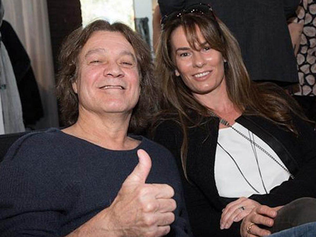 Eddie Van Halen S Wife Hangs With Mysterious Guy Amid Eddie S Cancer Battle Metalhead Zone