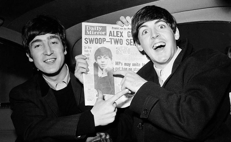 The Beatles' Paul McCartney Convinces John Lennon Of