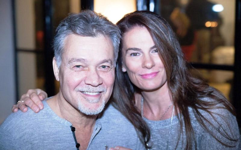 Eddie Van Halen's Wife Shares A Weird Photo After Eddie's ...