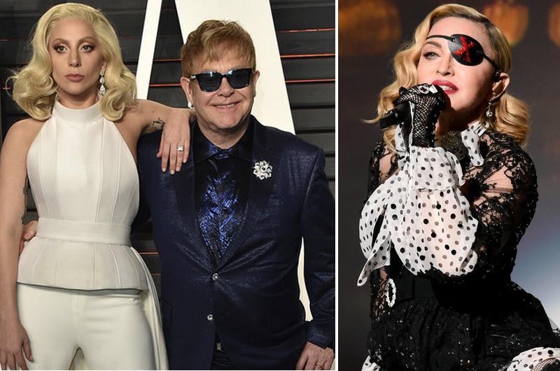 Elton John Fires Shot At Madonna Because Of Her Attitude Against Lady Gaga Metalhead Zone