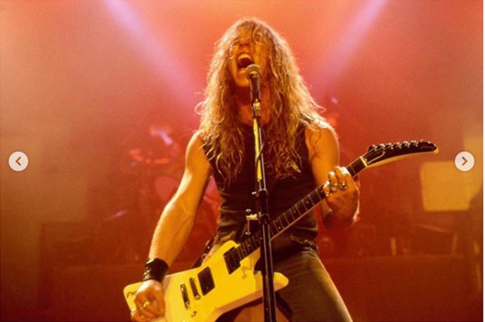 Metallica's James Hetfield's Unseen Photos From 'Master Of Puppets' Era  Revealed - Metalhead Zone