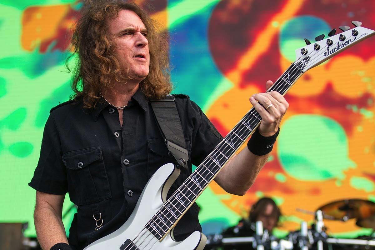 Megadeth Bassist David Ellefson Re-Releases His Book 'Rock ...
